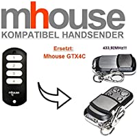 Mhouse gtx4C compatible handsender, Repuestos emisor, 433.92MHz Rolling