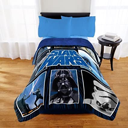 Star Wars Twin/Full Comforter with Full Sherpa Reverse Jay Franco & Sons