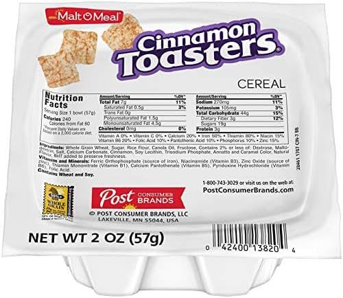Breakfast Cereal: Cinnamon Toasters
