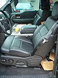 Durafit Covers.FD6-Charcoal leatherette Ford F150 Xcab Exact Fit Seat Covers Front and Back Set. Front Buckets with Seat Belts in the Top of Seat. Rear Seat is 60/40 bases with Solid Back.