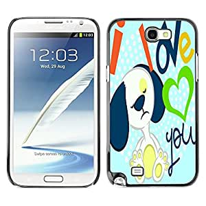Dragon Case - FOR Samsung Note 2 N7100 - fade as a leaf - Caja protectora de pl??stico duro de la cubierta Dise?¡Ào Slim Fit