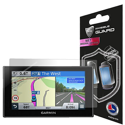 For Garmin nuvi 2699LMT-D Screen Protector Film with Lifetime Replacement Warranty Invisible Protective Screen Guard - HD Quality / Self-Healing / Bubble -Free By IPG - Garmin Nuvi Screen Protector