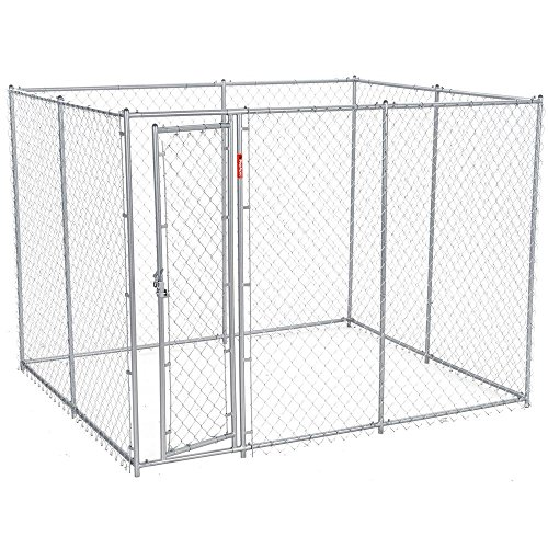 Chain Link Dog Kennel Containing