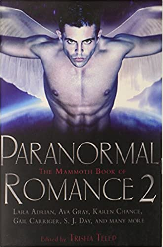 Image result for the mammoth book of paranormal romance 2 book cover