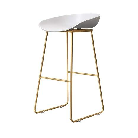 Amazon.com: MMZZ - Taburete alto / taburete de bar / silla ...