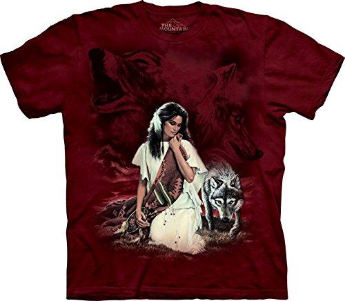 The Mountain T-Shirt - White Robe, Größe S