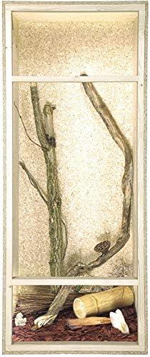 Terrario de tamaño grande: madera Terrario para Reptiles página ...