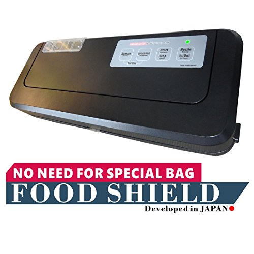 Food Shield - FOOD SHIELD works with Ziploc! & Vacuum chamber pouches! Reduce your running costs by up to 90%. It can even pack liquids and powders. Next Generation Vacuum Sealer.