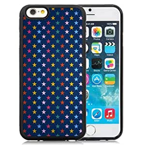 New Beautiful Custom Designed Cover Case For iPhone 6 4.7 Inch TPU With Stars Colorful Background Phone Case WANGJIANG LIMING