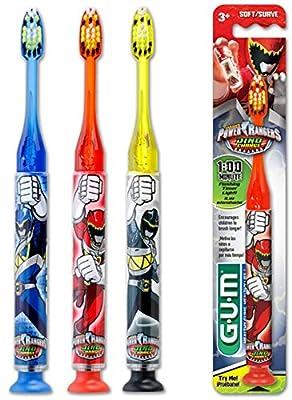 Gum Power Rangers Timer Light Toothbrush - Soft