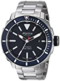 Alpina Men's 'Seastrong' Swiss Automatic Stainless Steel Diving Watch - Color:Silver-Toned (Model: AL-525LBN4V6B)