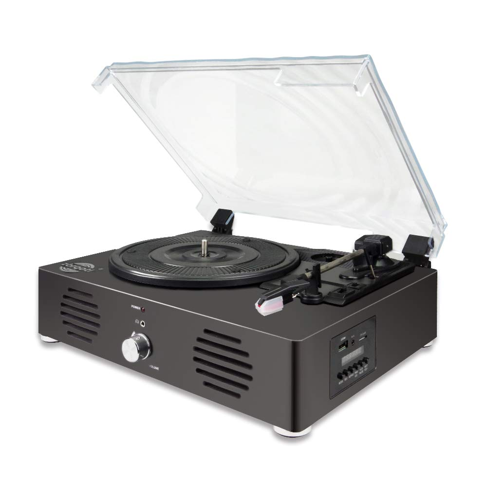 Record Player -13 in 1 Turntable with Speakers, Bluetooth, USB TF Card Line in,FM Radio and Headphone Jack