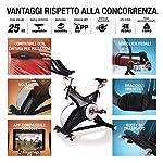Sportstech-Cyclette-Professionale-SX500-Marchio-di-qualita-Tedesco-Eventi-Video-Multiplayer-App-volano-da-25KG-Bike-Studio-Sistema-a-Scatto-SPD-Fino-a-150KG-eBook-Gratis