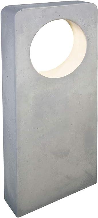 Baliza LED de Cemento con IP65 para el jardín de altura 70cms 580 Lúmenes fabricada a mano: Amazon.es: Iluminación