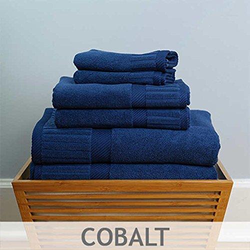 Turkish Towel Optimum 700gsm 6-pc. Towel Set - Cobalt