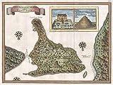 Imagekind Wall Art Print entitled Vintage Map Of Bali Indonesia (1760) by Alleycatshirts @Zazzle | 21 x 16