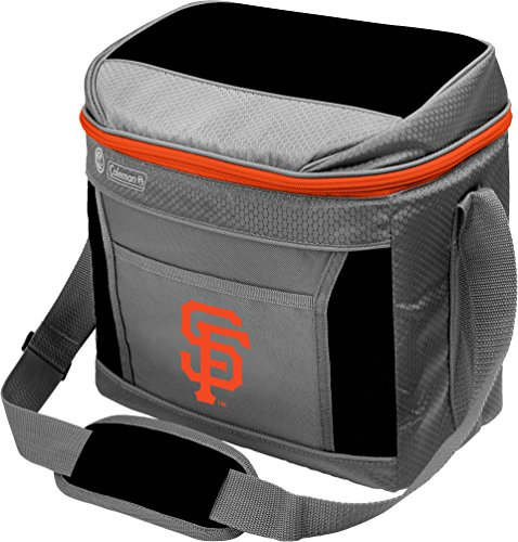 (MLB Unisex Coleman 24 Hour - 16 Can Soft Sided Cooler - San Francisco Giants)