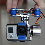 Nacelle Brushless 2 Axes FPV avec Contrôleur pour DJI Phantom GoPro 3