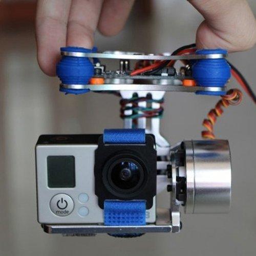 FPV 2 Achse Brushless Gimbal mit Steuerpult für DJI Phantom GoPro 3