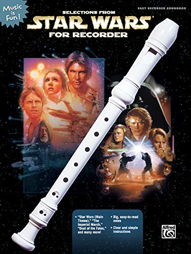 Selections from Star Wars for Recorder: Book Only (Music Is Fun) (Recorders With Musical Book)