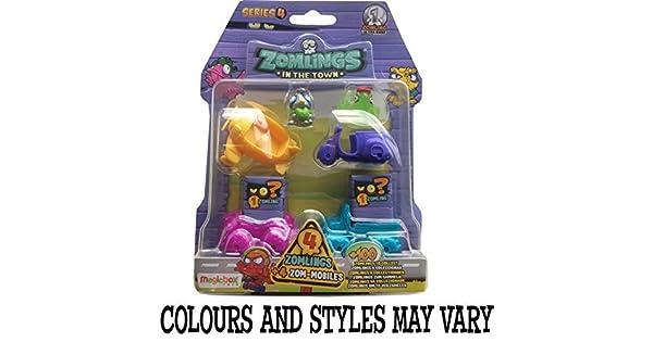 Amazon.com: Magic Box juguetes Zomlings Serie 4 blíster por ...