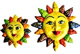 Set of Spring Suns! - Ceramic Suns Hand Painted In Spain