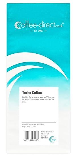 Amazon.com : Coffee Direct Turbo Coffee Beans 908 g : Grocery & Gourmet Food