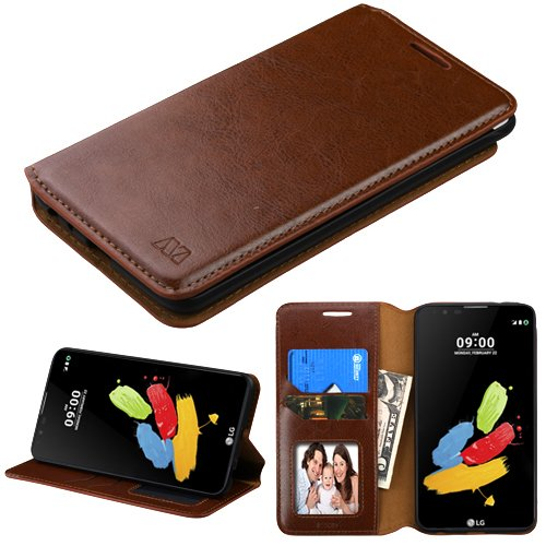 Tempered Glass Cases, Covers & Skins Cell Phones & Accessories For Lg Stylus 2 K520 New Leather Flip Book Wallet Phone Case