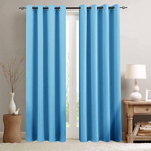 Blackout Curtains for Bedroom Triple Weave Room Darkening Cu