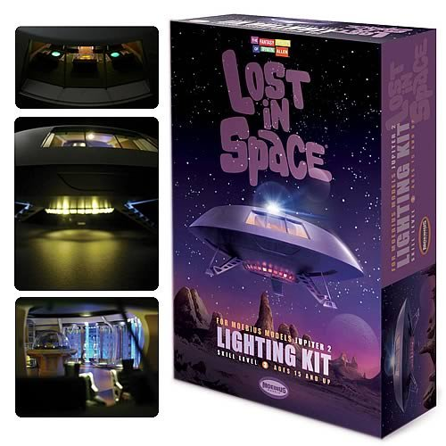 #2097 Moebius Lost in Space Jupiter 2 Lighting Kit ,Needs Assembly [Tools & Home Improvement] by Moebius Models