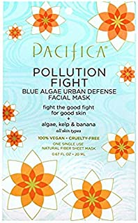 product image for Pacifica Pollution Fighter Blue Algae Urban Defense Facial Mask, 12Count