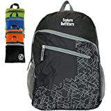 Insane 4 Day Sale Expires 7/28/16 Genuine Nylon Packable Backpacks (35L). Best Portable Foldable Ultra Lightweight Daypack For Men and Women Travel, Outdoors, Hiking By Explore Outfitters