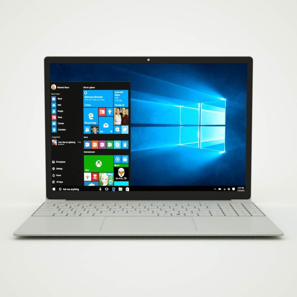 15.6 inch Windows 10 Laptop, FHD 1920x 1080 IPS Display Intel Celeron J4115, 8GB RAM 128GB SSD, Ultra Thin and Light Notebook, USB 3.0, HDMI, Type-C