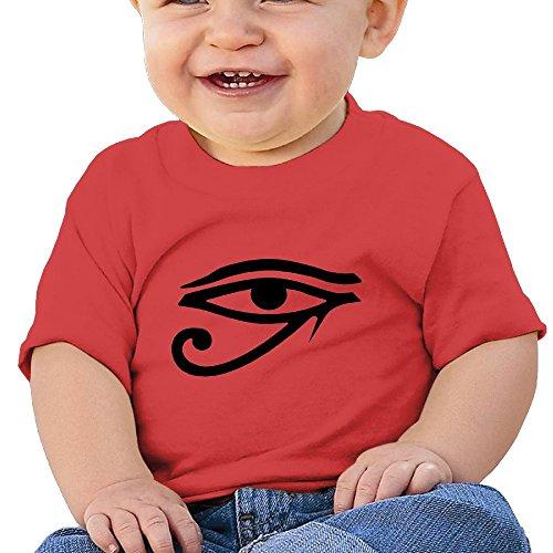 Price comparison product image Kim Lennon Eye Of God Custom Girl High Quality T-shirt Red Size 6 M