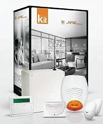 AMC - Kit alarma 8/24 entradas con GSM: Amazon.es: Industria ...