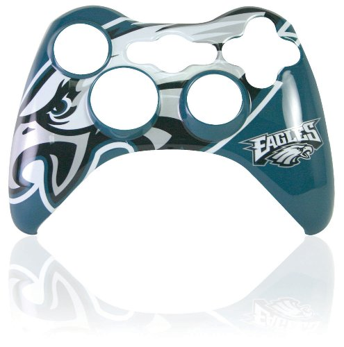 Xbox 360 Official NFL Philadelphia Eagles Controller Faceplate (Xbox 360 Official Nfl)
