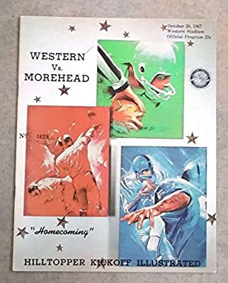 Morehead State Western Kentucky College Football Program - 1967 - Ex