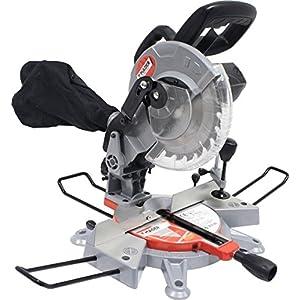 Mader Power Tools 63290 Sierra Ingletadora Madera 1200W, 210 mm, Varios ángulos y Cortes de precisión