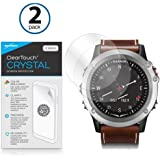 Garmin D2 Bravo Screen Protector, BoxWave [ClearTouch Crystal (2-Pack)] HD Film Skin - Shields From Scratches for Garmin D2 Bravo