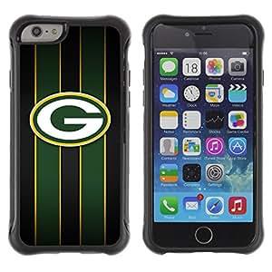 Kobe Diy Case Rugged hybrid Protection Impact Case Cover FOR iPhone 6 Plus CASE Cover ,iphone 6 5.5 case,iPhone 6 Plus cover ,Cases for iPhone 6 Plus 5.5 / Green Bay Packer Hockey /