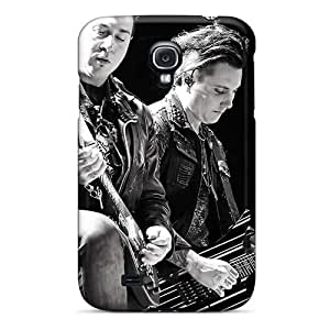 Luoxunmobile333 Samsung Galaxy S4 Shock Absorbent Hard Phone Cover Custom Realistic Avenged Sevenfold Band A7X Image [MzL502pwpQ]