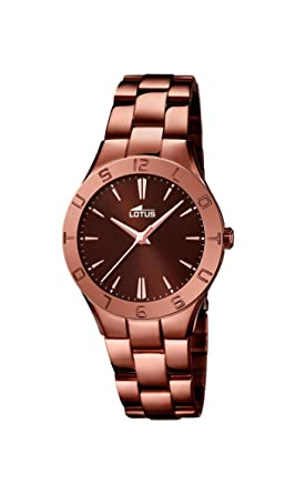 Lotus - Reloj de Pulsera analógico para Mujer Cuarzo Acero Inoxidable 15997/2: LOTUS: Amazon.es: Relojes