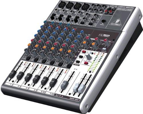Behringer 1204USB Mixer Passivoa 12 ingressi per studio, live, karaoke, ecc