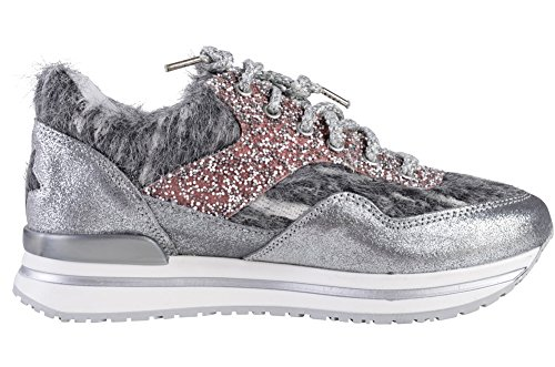 Shoes 36 2Star Sneaker Women's Silver Gold Textile 15FqwxSAA