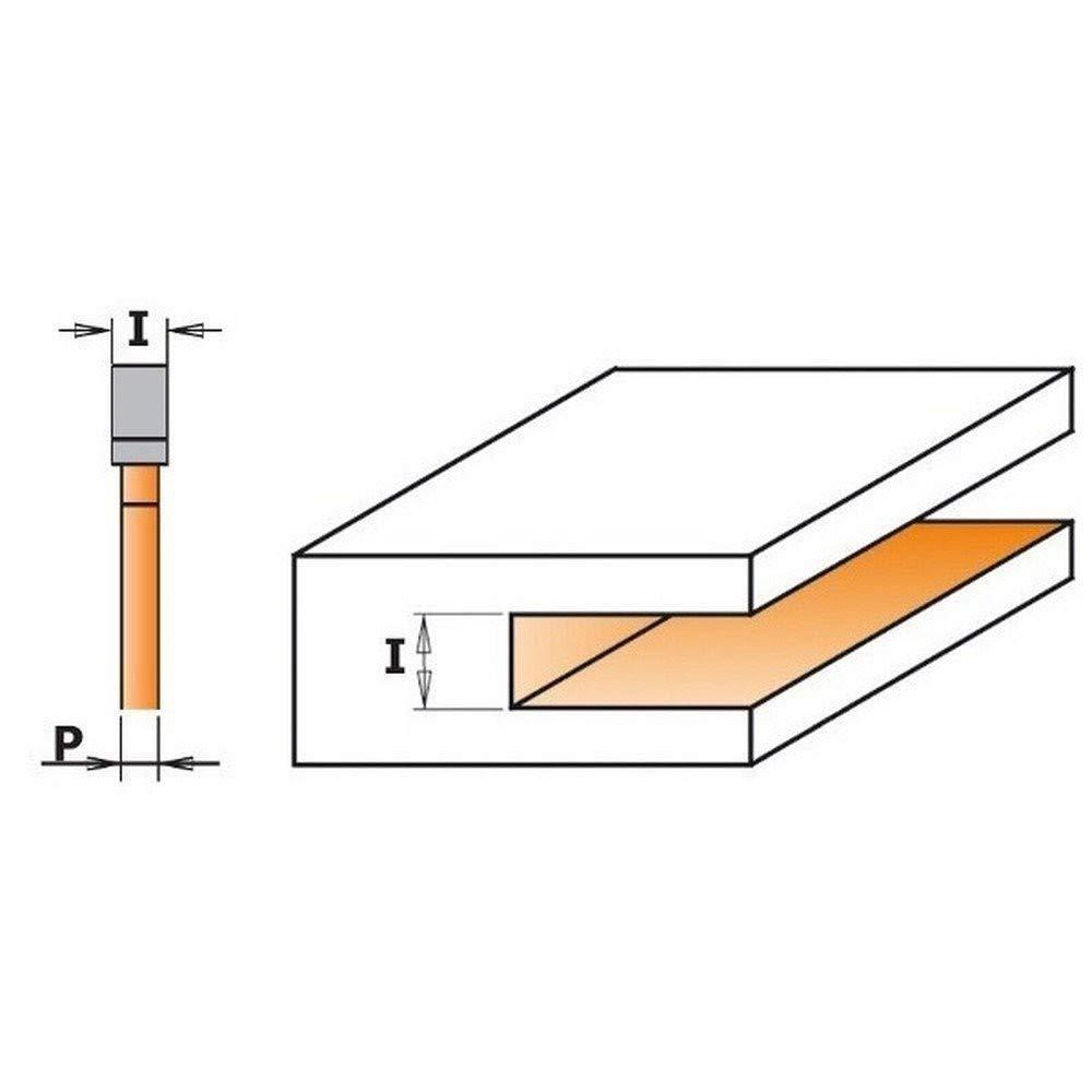 CMT Orange Tools 922.320.11/A/ /Lochschneider f/ür Speichersteckpl/ätze Z3/HM S 8/D 47.6/x 2