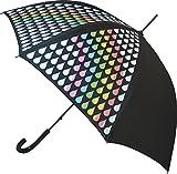 Rainbow Colour Change Stick Umbrella