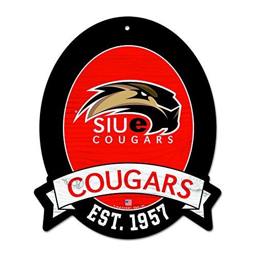 FGCSports 11X13 Southern Illinois University Edwardsville Cougars Wood Street Sign