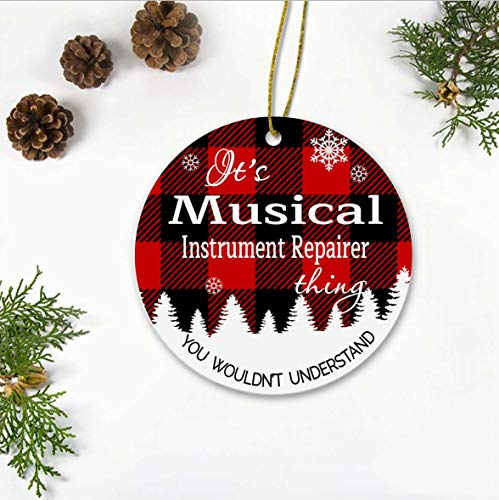 New Job Christmas Tree Ornaments 2020 – It'sa Musical Instrument Repairer Thing, You Wouldn't Understand – Xmas Gift…