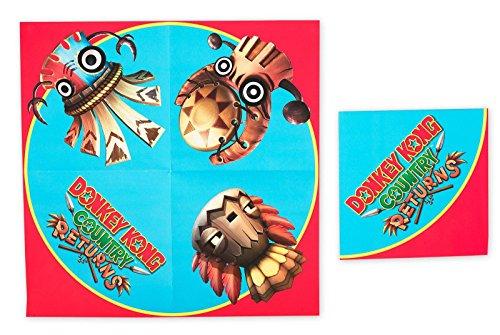 UPC 847356013458, Donkey Kong Lunch Napkins (20)