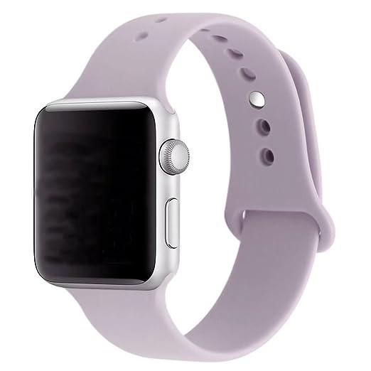 221 opinioni per ZRO Smartwatch Cinturino, Morbido Silicone Sport Cinturini di Ricambio per Apple